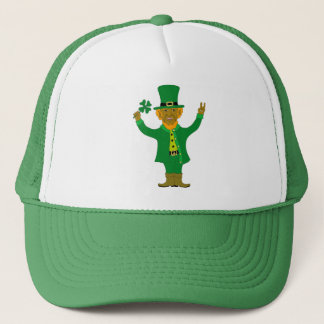 Victory Leprechaun Trucker Hat