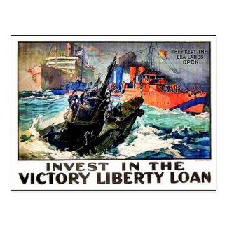Victory Liberty Loan Postcard