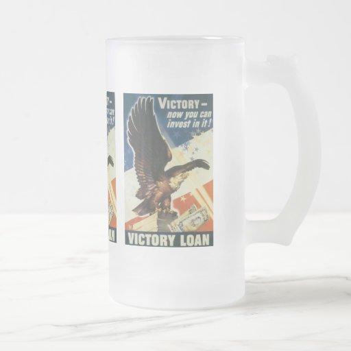 Victory Loan World War 2 Mugs