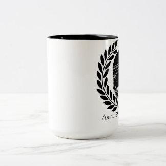 VIctory Loves Preparation Two-Tone Coffee Mug