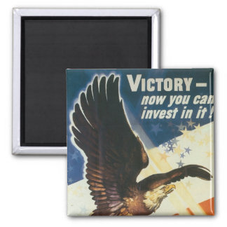 Victory - Now You Can Invest In It! Magnet
