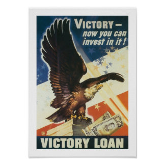 Victory - Now You Can Invest In It! Poster