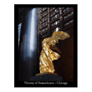 Victory of Samothrace - Chicago Post Card