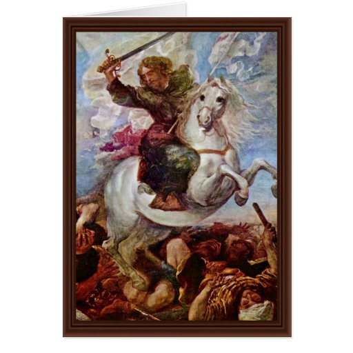 Victory Of St. James The Apostle On The Moors, Spa Greeting Cards