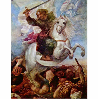 Victory Of St. James The Apostle On The Moors, Spa Acrylic Cut Outs