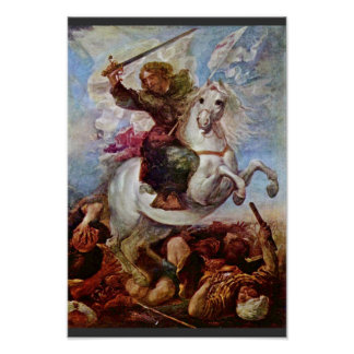 Victory Of St. James The Apostle On The Moors, Spa Poster