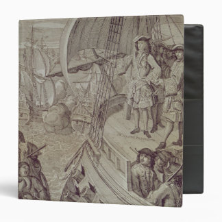 Victory of the Navy of Louis XIV 3 Ring Binder