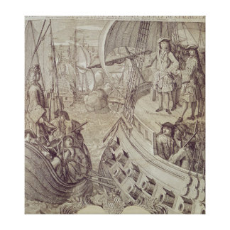 Victory of the Navy of Louis XIV Canvas Print
