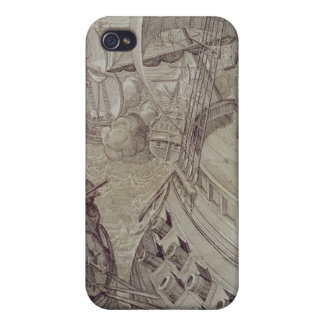 Victory of the Navy of Louis XIV iPhone 4/4S Cases