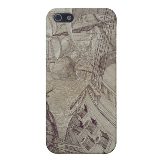 Victory of the Navy of Louis XIV iPhone SE/5/5s Cover