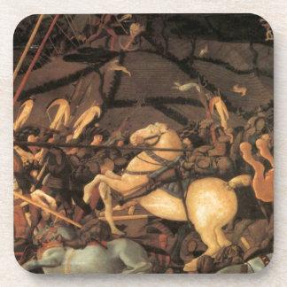 Victory over Bernardino della Ciarda by Paolo Ucce Drink Coaster