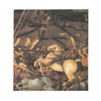 Victory over Bernardino della Ciarda by Paolo Ucce Notepad