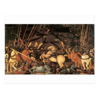 Victory over Bernardino della Ciarda by Paolo Ucce Postcard