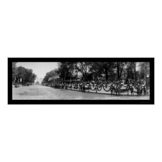 Victory Parade DC WWI Photo 1919 Poster