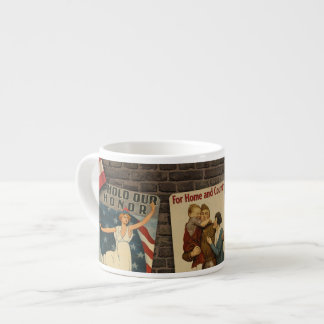 Victory & Peace Espresso Mug