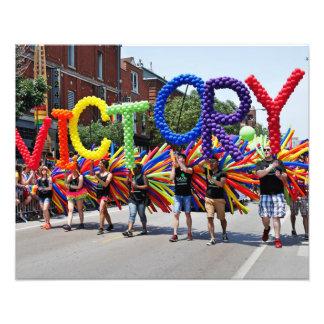 Victory Pride Photo Print