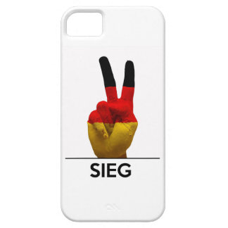 victory symbol hand germany sieg german text iPhone SE/5/5s case