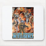 Victory Through Intelligence by Al Rio Mouse Pad