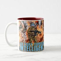 victory, intelligence, patriotism, Mug with custom graphic design
