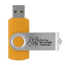 Victory through Jesus Flash Drive