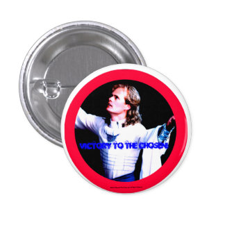 Victory To The Chosen Pinback Button