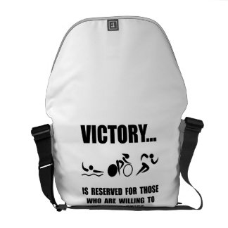 Victory Triathlon Courier Bags