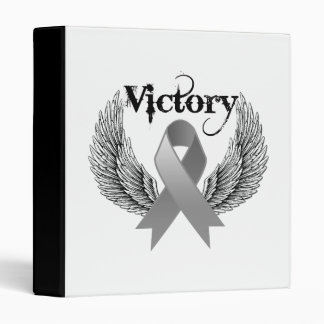 Victory Wings - Brain Cancer Binder