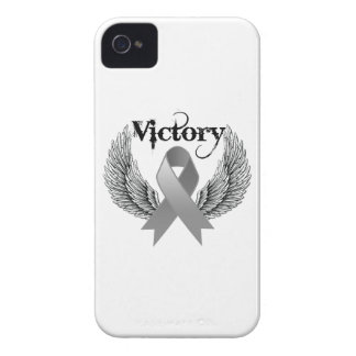 Victory Wings - Brain Cancer iPhone 4 Covers