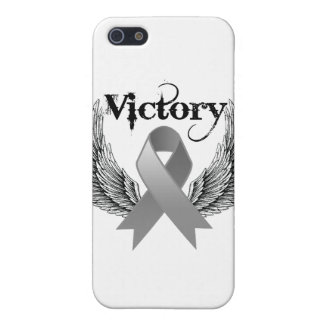 Victory Wings - Brain Cancer iPhone 5 Cases