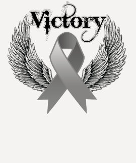 Victory Wings - Brain Cancer Tee Shirt