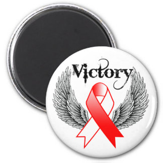 Victory Wings - Oral Cancer Magnets