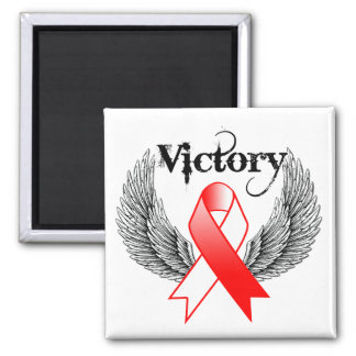 Victory Wings - Oral Cancer Fridge Magnet
