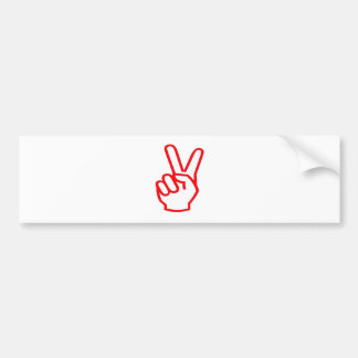 VICTORY  Winner:  Sale Force Motivation Symbol Bumper Sticker