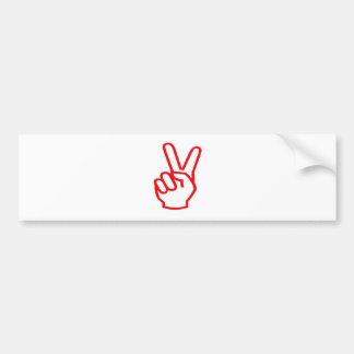 VICTORY  Winner:  Sale Force Motivation Symbol Car Bumper Sticker