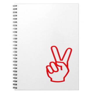 VICTORY  Winner:  Sale Force Motivation Symbol Notebook