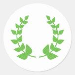 victory wreath sticker