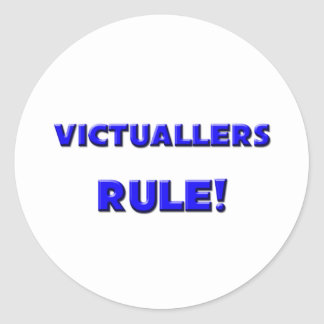 Victuallers Rule! Sticker