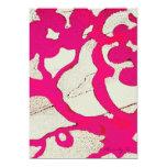 Vid abstracta de las rosas fuertes o invitaciones invitación 12,7 x 17,8 cm