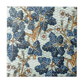 Vid del vintage azulejo cuadrado pequeño