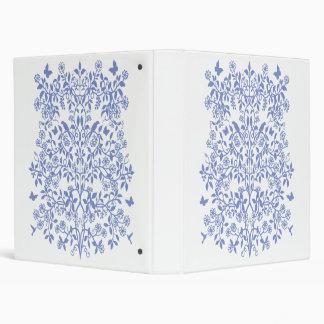 Vid floral de la carpeta de Avery de la vida
