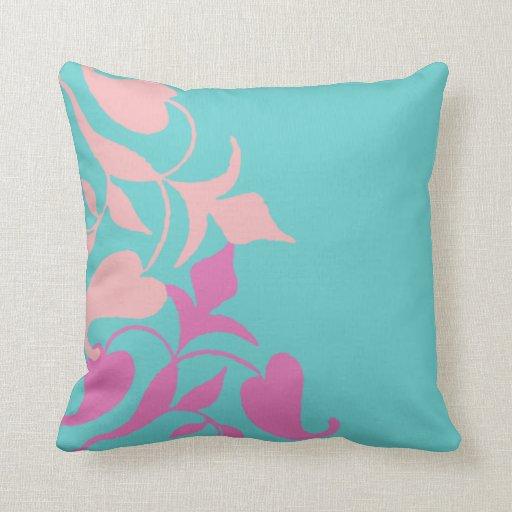 Vid rosada púrpura retra moderna en la almohada de