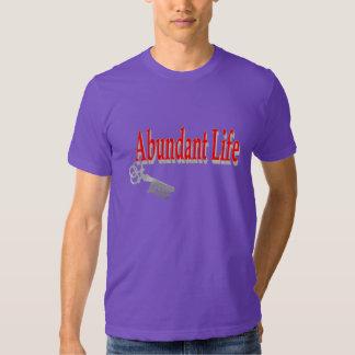 Vida abundante: La llave - v1 (Juan 10: 10) Camisas