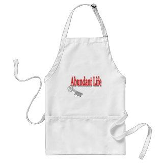 Vida abundante: La llave - v1 (Juan 10: 10) Delantal