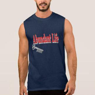 Vida abundante: La llave - v1 (Juan 10: 10) Camiseta Sin Mangas