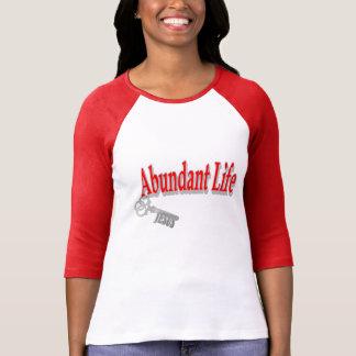 Vida abundante: La llave - v1 (Juan 10: 10) Camisetas