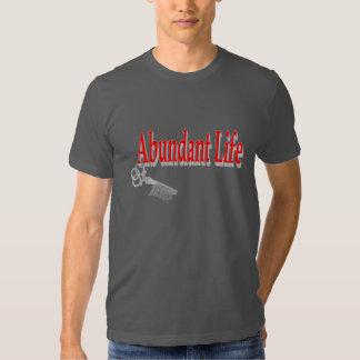 Vida abundante: La llave - v1 (Juan 10: 10) Playeras