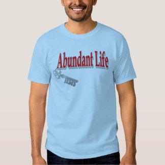 Vida abundante: La llave - v1 (Juan 10: 10) Remera