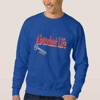 Vida abundante: La llave - v1 (Juan 10: 10) Suéter