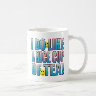 Vida agradable B del té Taza Clásica