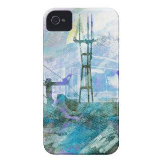 Vida AKA San Francisco Pho gemelo eléctrico de iPhone 4 Case-Mate Carcasa